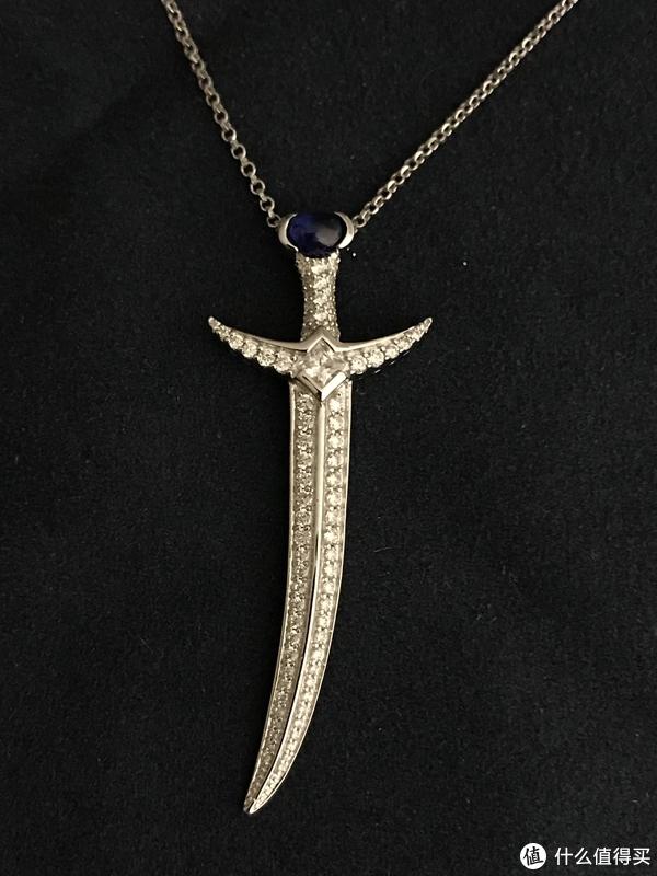 MULAN宝剑造型项链
