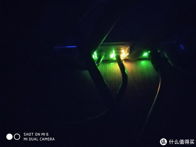 这是晚上的灯光效果