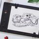 手绘黑科技,萌系画风试 —— ISKN Slate2+手绘板 使用评测