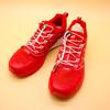 我曾经跨过山和大海 — 探路者大红PAO-F1越野跑鞋