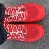 妖娆红色带你跑--探路者大红PAO-F1越野跑鞋简评