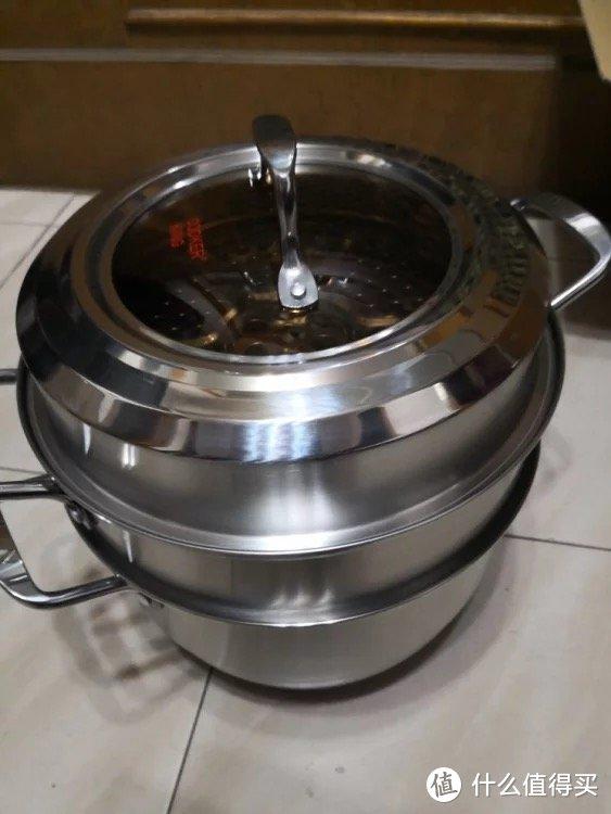 有为小青年的推荐:COOKER KING 炊大皇 304不锈钢蒸锅
