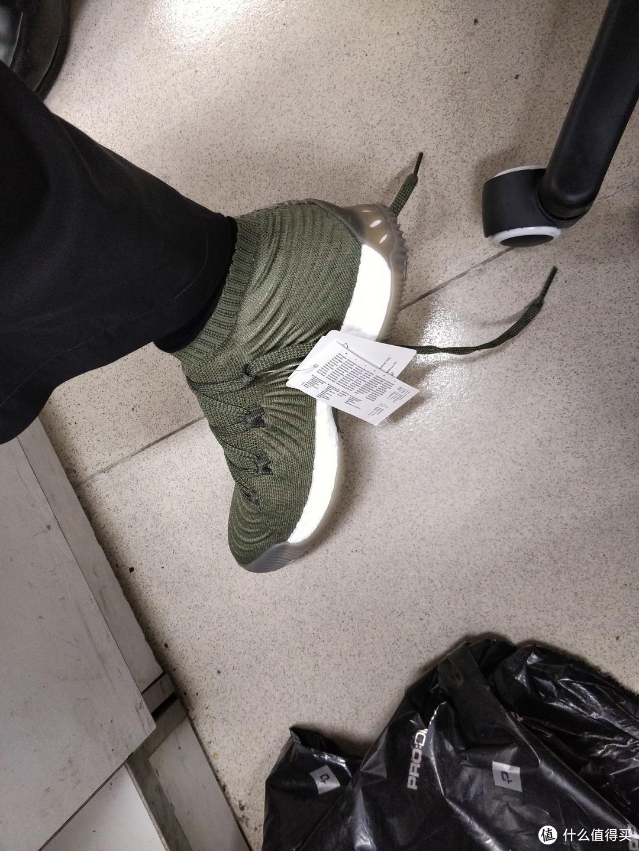 Adidas 阿迪达斯 Crazy Explosive 2017 Low 男子篮球鞋 晒单
