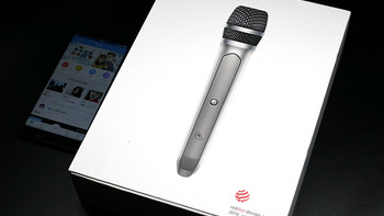 天籁K歌麦克风外观设计(USB接收器|电池|网罩)