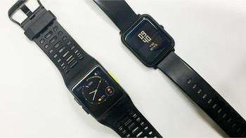 埃微P1能量运动手表细节展示(屏幕|底座|传感器)