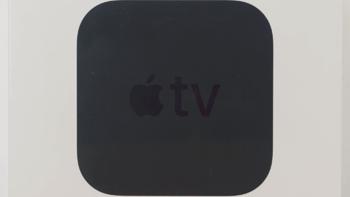 苹果 TV 4K 电视机购买过程(本体|散热口|风扇|包装|遥控器)