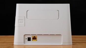 华为4G路由器 2外观展示(天线|接口|指示灯|按键)