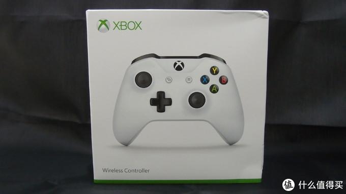 管不住自己的手:Microsoft 微软 Xbox One S 白色版蓝牙手柄开箱