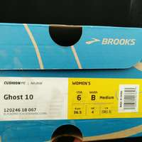 布鲁克斯 Ghost 10 跑鞋使用总结(鞋垫|重量|网布)
