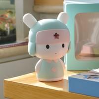 小米兔 智能故事机外观展示(包装|配件|数据线|卡片)