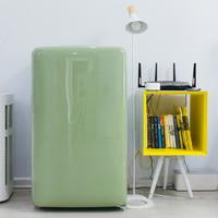 为复古买单,圆幼年梦想—小吉 BC-M121C 迷你复古冰箱评测
