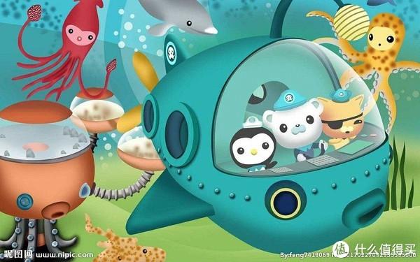 《海底小纵队》(Octonauts)