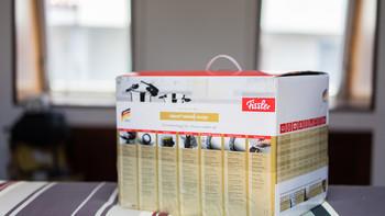 菲仕乐 Vitavit Edition系列 design 压力锅开箱展示(包装|锅盖|手柄|旋钮)
