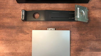 明基 PD2710QC 显示器开箱展示(电源线 接口 面板 尺寸 支持臂)