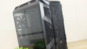 酷冷至尊H500M ARGB模块化机箱外观展示(前面板|网格|过滤网|接口|风扇)