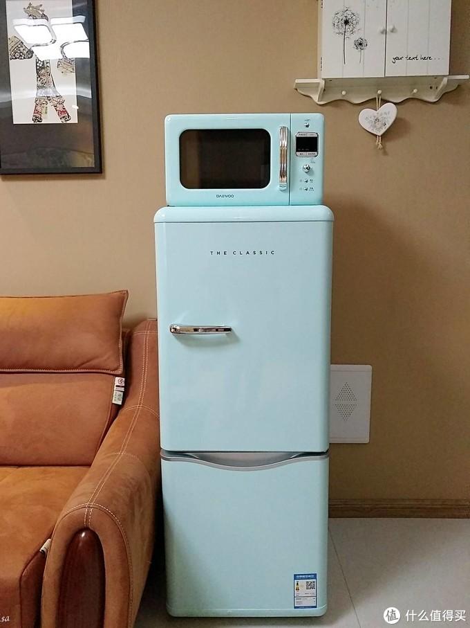 生活需要多一点精致,志高复古冰箱