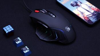 双飞燕 血手幽灵 J95 彩漫鼠产品介绍(包装|附件)