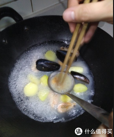 海鲜夜宵汤