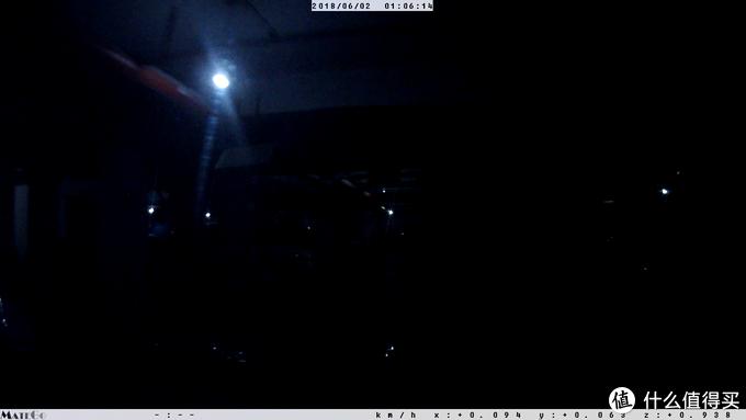 夜视仪般的效果!Papago! N291测试