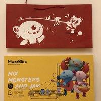 Muzzbloc 玩具外观展示(说明书|玩偶|支架|直板)