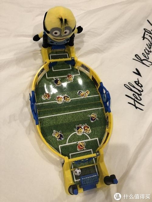 小黄人足球机开箱测评