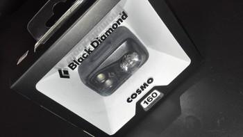 BD COSMO 160流明 头灯开箱细节(主体|开关|电池槽|头灯)