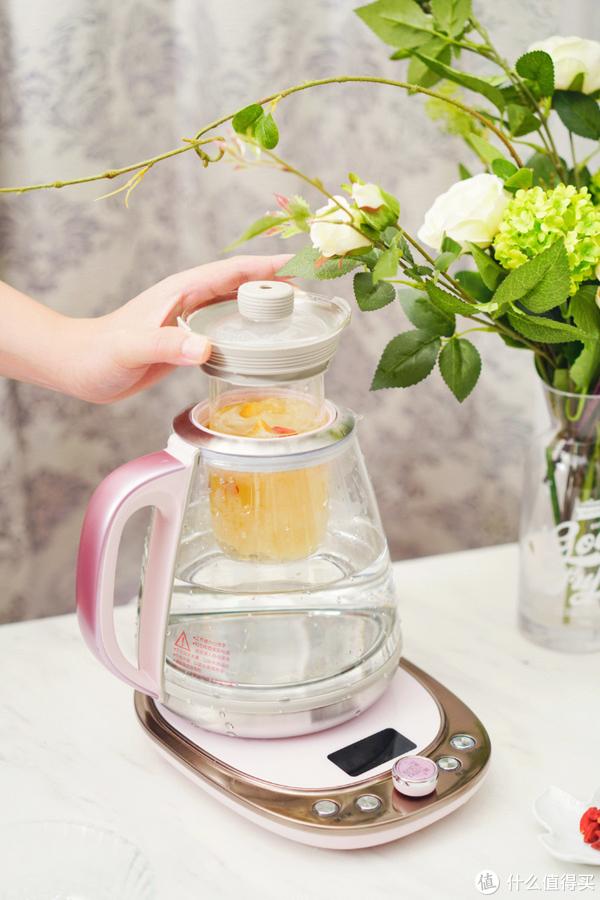办公室养生茶,困顿的午后来一壶?小熊炖煮养生壶