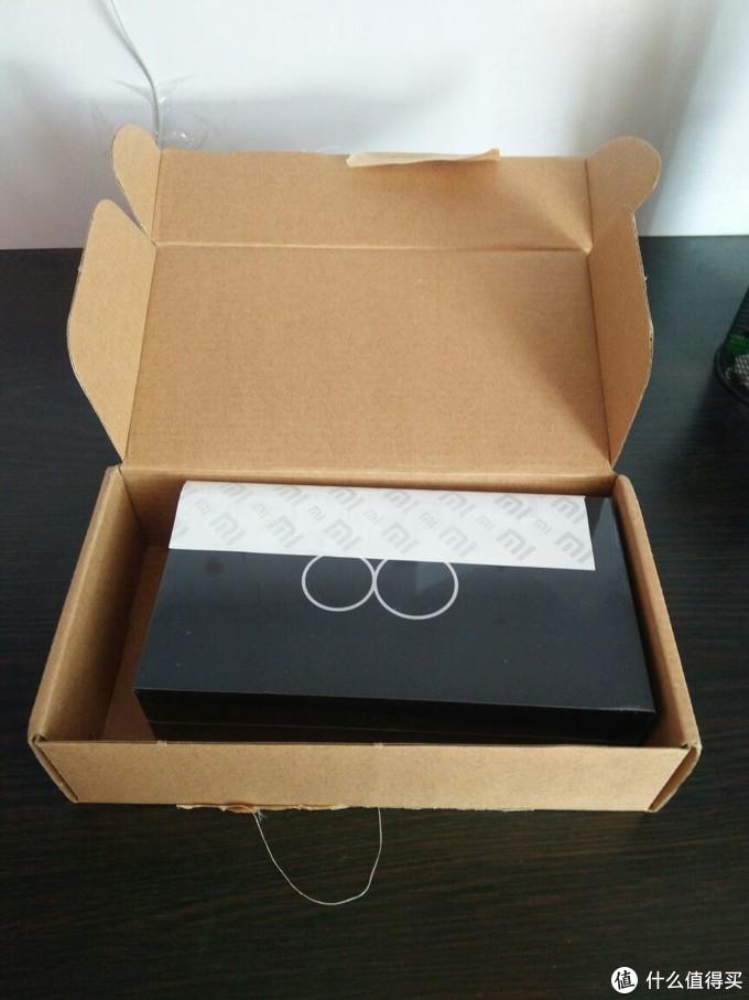 2,小米包装盒和发货单