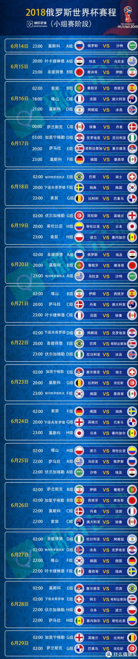 世界杯最值得种草国家队推荐—6.14正式开赛!