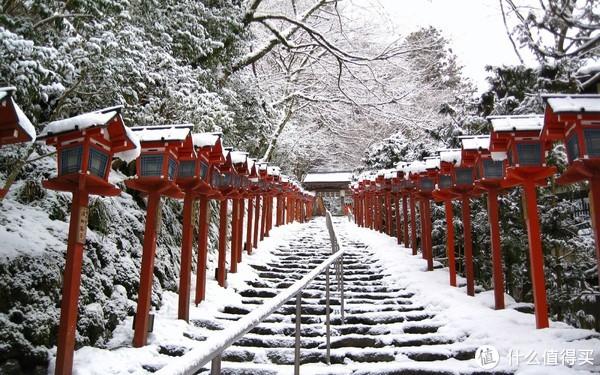 ▲贵船神社,雪景