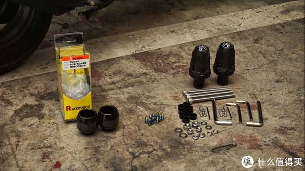 防摔系统、支架、刹车拉杆、电压检测、机油标尺、灯光系统等改装