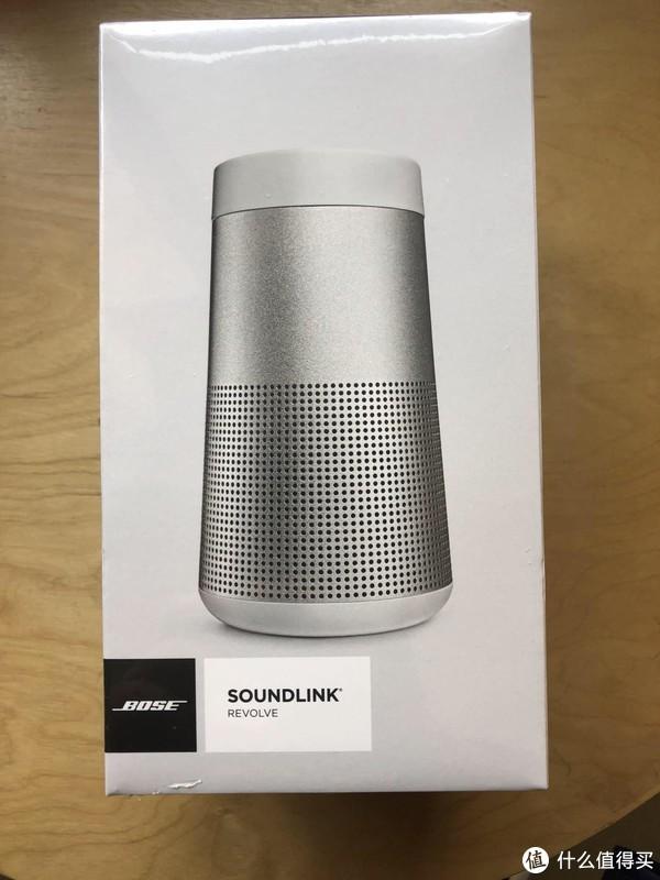 BOSE SoundLink Revolve 音箱 开箱和轻体验