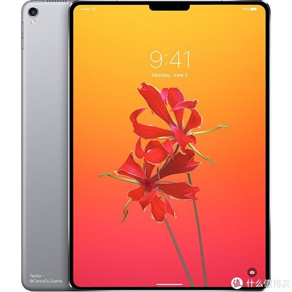 ▲ iPad Pro 渲染图 byCarlos Guerra