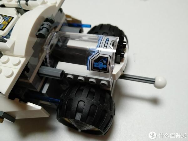 弥补童年缺少的遗憾 篇十二:LEGO 乐高 70588 钛忍者的装甲战车