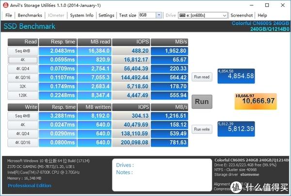 入门级NVME新选择:COLORFUL 七彩虹 CN600s 固态硬盘 开箱测试