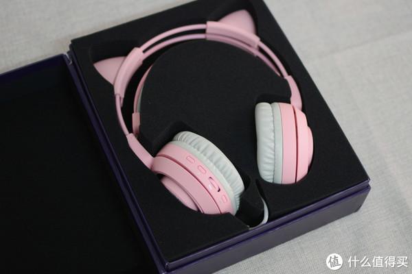 老夫的少女心 篇一:粉嫩猫耳酱—SOMIC 硕美科 G951 pink 猫耳耳机开箱测评