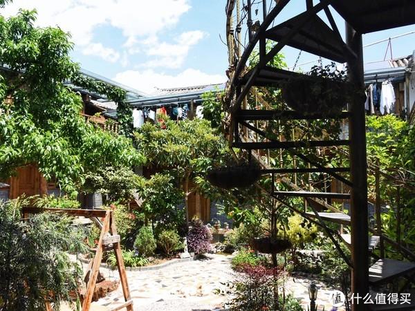 民宿的院子