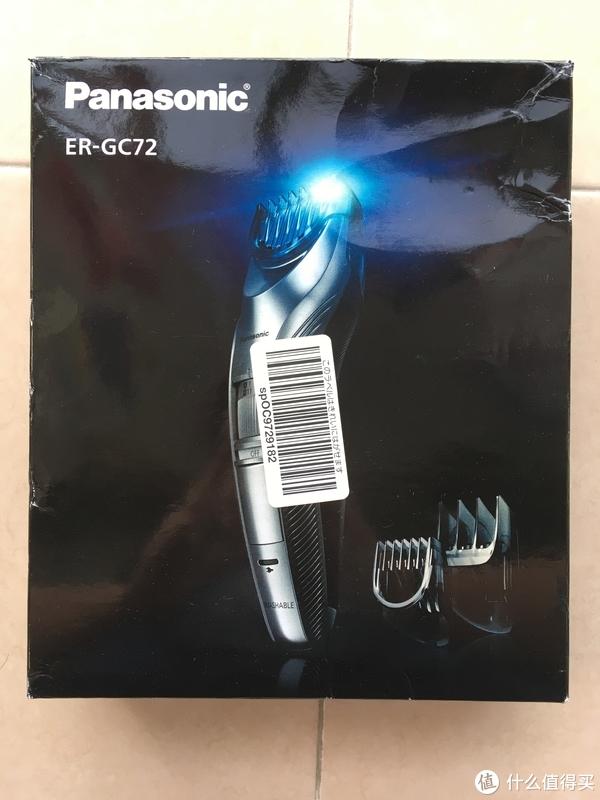 轻晒单 篇一:漂亮精致的电动理发器—Panasonic 松下 ER-GC72 开箱