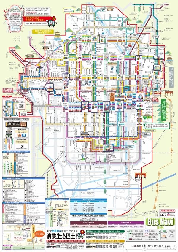 京都交通图