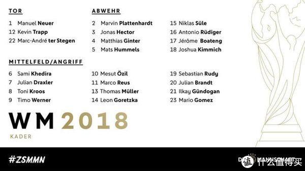 世界杯扫盲—德国国家队你应该了解这些