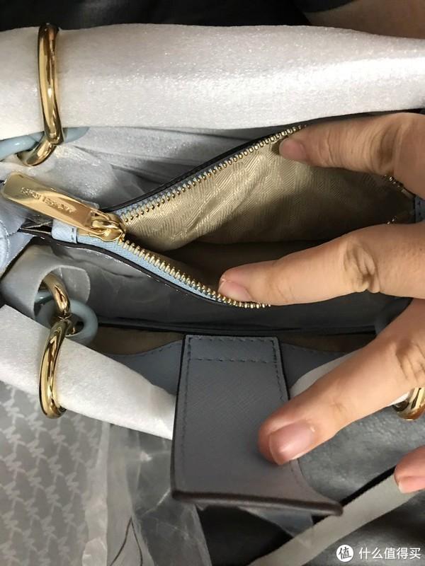 给老婆又买了个包—MICHAEL KORS 小号戴妃皮质手提包晒物分享