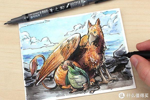 水彩画中使用到一些防水笔和墨水推荐指南