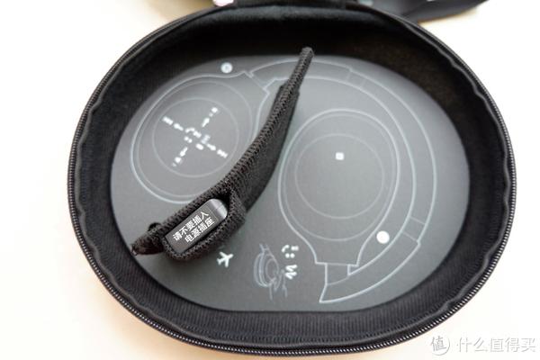 贴心提醒耳机摆放位置,航空插头不要插进插座