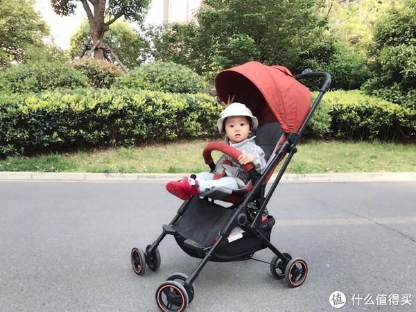 二胎妈咪的哄娃神器之宝宝的第一辆豪车之稚行小轻星儿童折叠推车