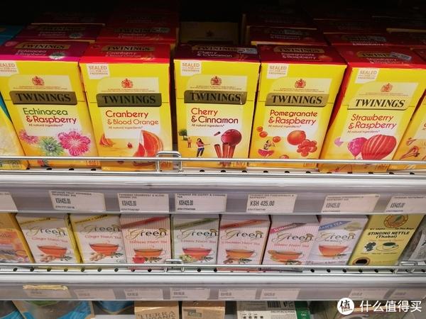 川宁及各种茶。