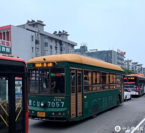 洛阳的部分公交车很有特点
