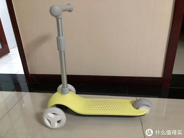 米兔儿童滑板车首晒