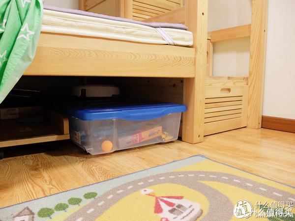 箱子放在床下很合适