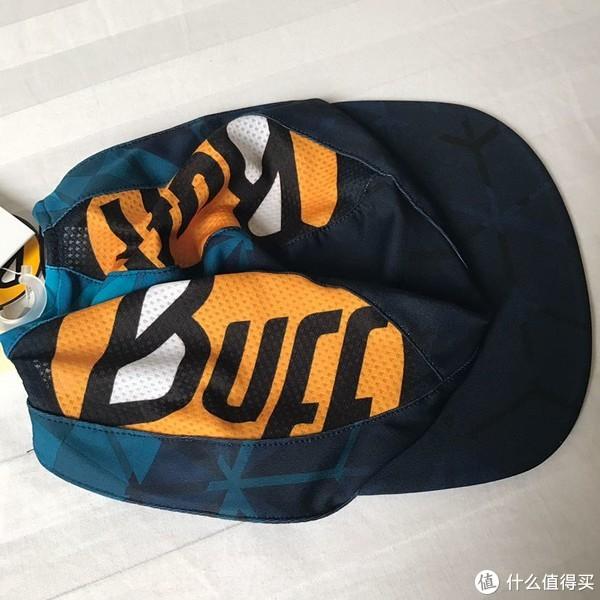 开箱验货 篇三:高颜值、多功能—buff超轻折叠跑步帽开箱