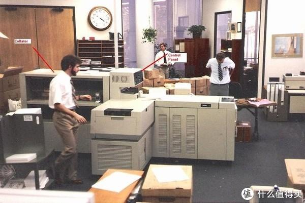 施乐早起的激光打印机,直到今天富士施乐在大型打印机还占有很大的出货量